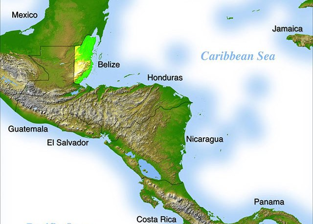 Where is Belize? -