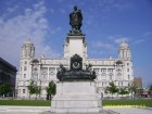 Memorial to Sir Alfred Lewis Jones & Port of Liverpool Building (Canada Boulevard)
