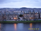 looking W from Inverness Castle