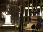 Statue of Robert Peel, Queen Victoria equestrian (George Square)