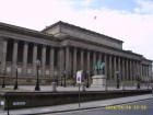St George's Hall & Equestrian statue of Prince Albert