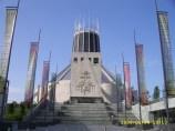 Liverpool Metropolitan Cathedral 세계 최대 스테인드글라스윈도우가 있다