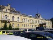 former Royal Palace = бившият Царски дворец
