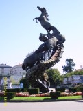 Os cabalos (Praza de España)
