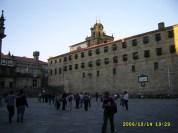 Casa da Parra, Mosteiro e Igrexa de San Paio de Antealtares (Praza da Quintana)