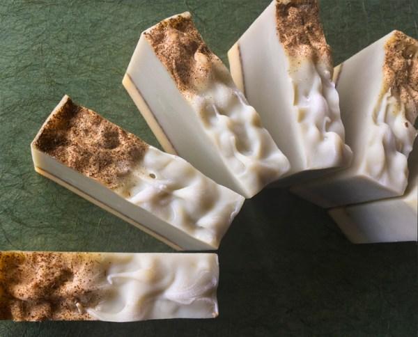 Morning Organic Soap, top view