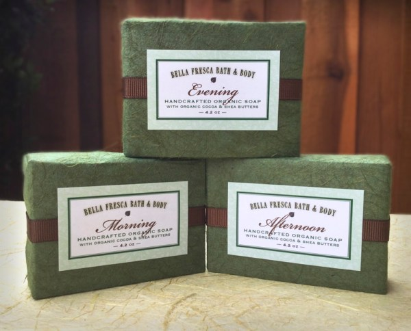 organic soap packaging