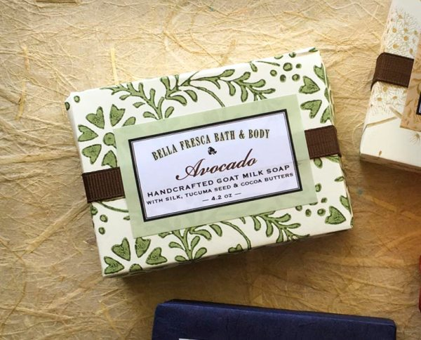 Avocado Soap Package