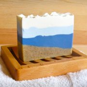 A bar of Surf & Sand Handcrafted Soap