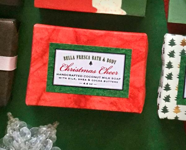 Christmas Cheer Soap Package