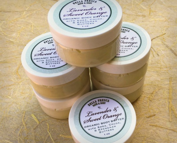 Lavender & Sweet Orange Organic Body Butter