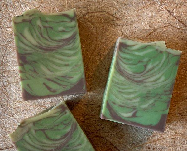 Silver Fir Goat Milk soaps