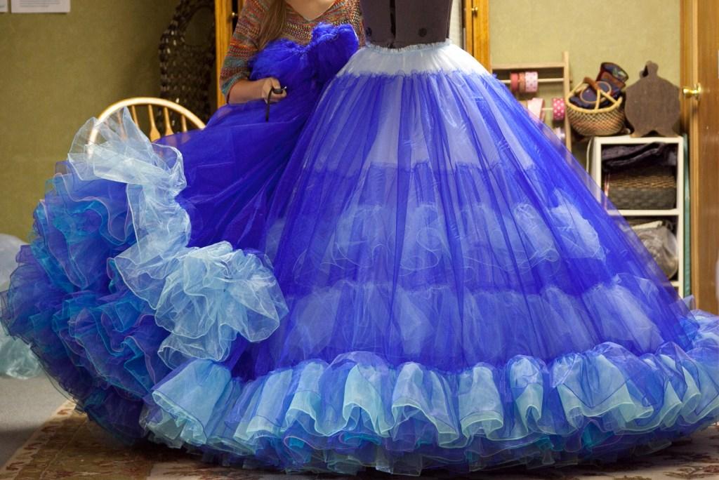 Inside My Cinderella Ball Gown Replica Bella Mae S Designs