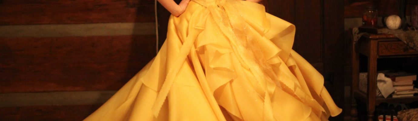 Sewing a Beauty – Belle's Yellow Ballgown – Step 2: Outer Skirt