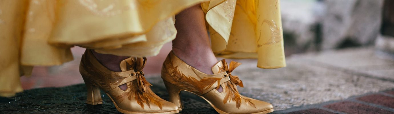 Feathers & All – Replicating Belle's Shoes