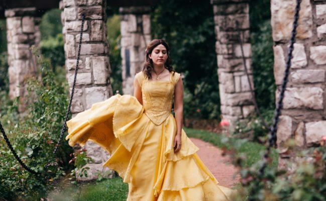 Belle's Ballgown Replica