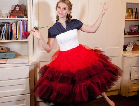 Alice's Red Court Costume –  Petticoat (Video & Diagram)
