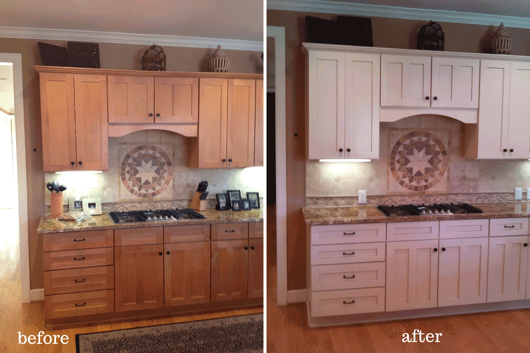 paint kitchen cabinets white replace cabinet doors painted nashville tn before and after photos