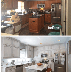 Repaint Kitchen Cabinets Shaker Style Cabinet Hardware Painted Nashville Tn Before And After Photos