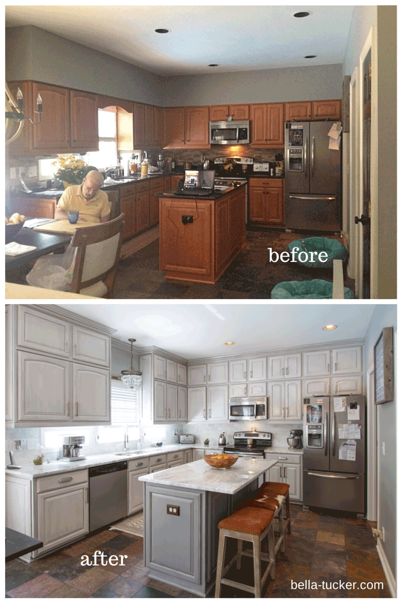 repaint kitchen cabinets single bowl stainless steel sink painted nashville tn before and after photos