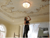 Downton Abbey Style Decorative Painting