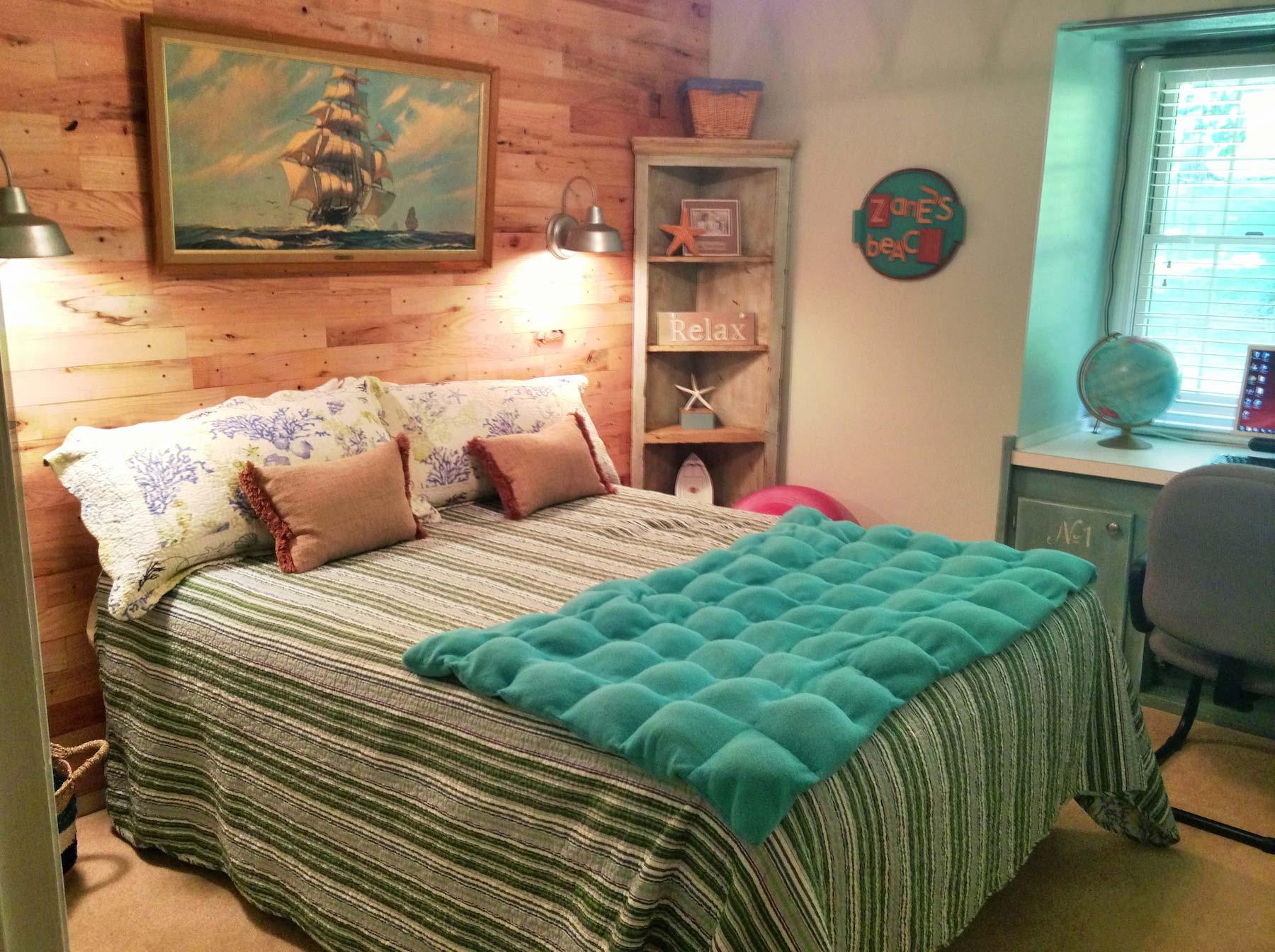 Beach Room Makeover