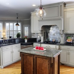 Gray Cabinets Kitchen Glass Door Cabinet Have You Considered Grey