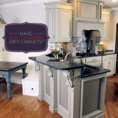 Gray Cabinets Kitchen Unit Led Lights Have You Considered Grey