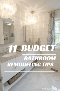 Bathroom Remodeling on a Budget - Bella Tucker Decorative ...
