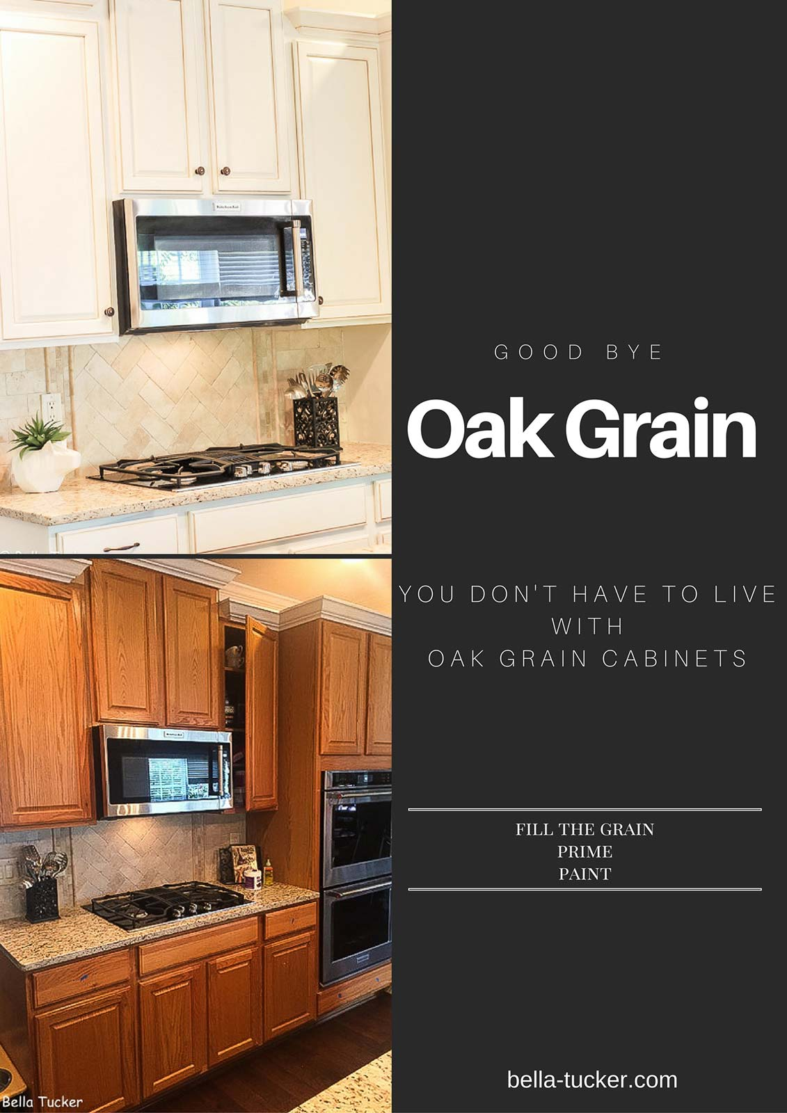 Oak Cabinets You Dont Have to Live with the Grain
