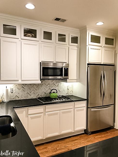sherwin williams alabaster cabinets. Black Bedroom Furniture Sets. Home Design Ideas