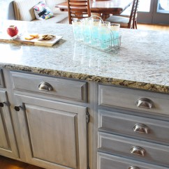 Kitchen Hardware Round White Table A Guide To Updating Your Cabinet Bella Tucker Combination Of Knobs And Bin Pulls