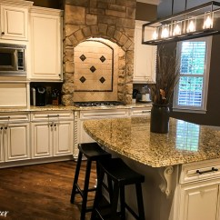 Best Off White Color For Kitchen Cabinets Rugs How To Work With Your Existing Granite When Updating ...