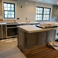 Kitchen Island With Cooktop Chandelier For Tucker Remodel- Week 4 - Bella Decorative ...
