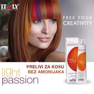 Light Passion preliv za kosu