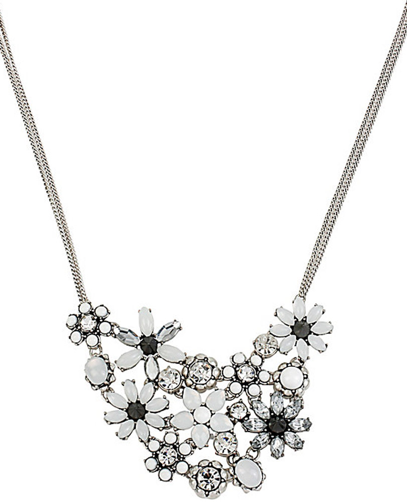 Betsey Johnson Jewelry SOMETHING NEW FLOWER FRONTAL