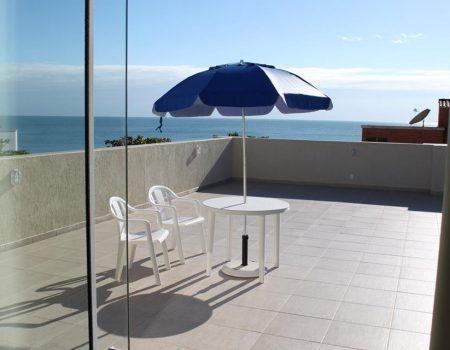 Loft em Bombinhas - terraço
