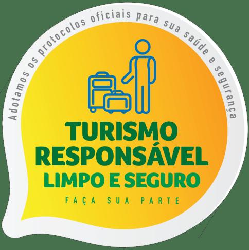 Turismo responsável, limpo e seguro.