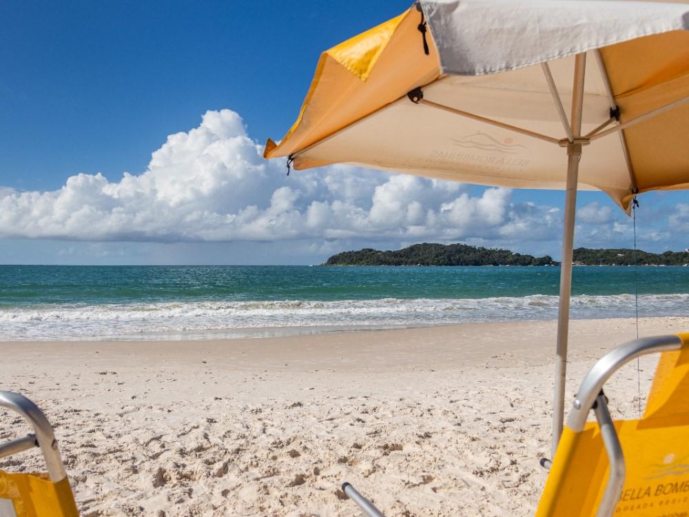 Serviço De Praia Durante O Final De Semana