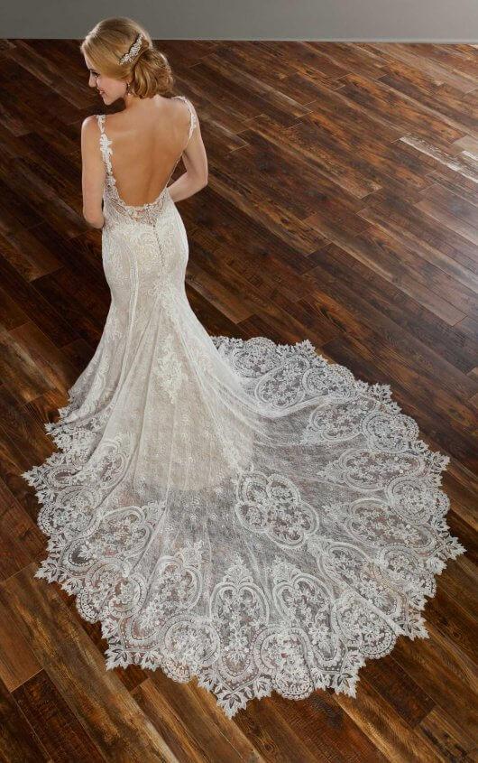 wedding gown trains