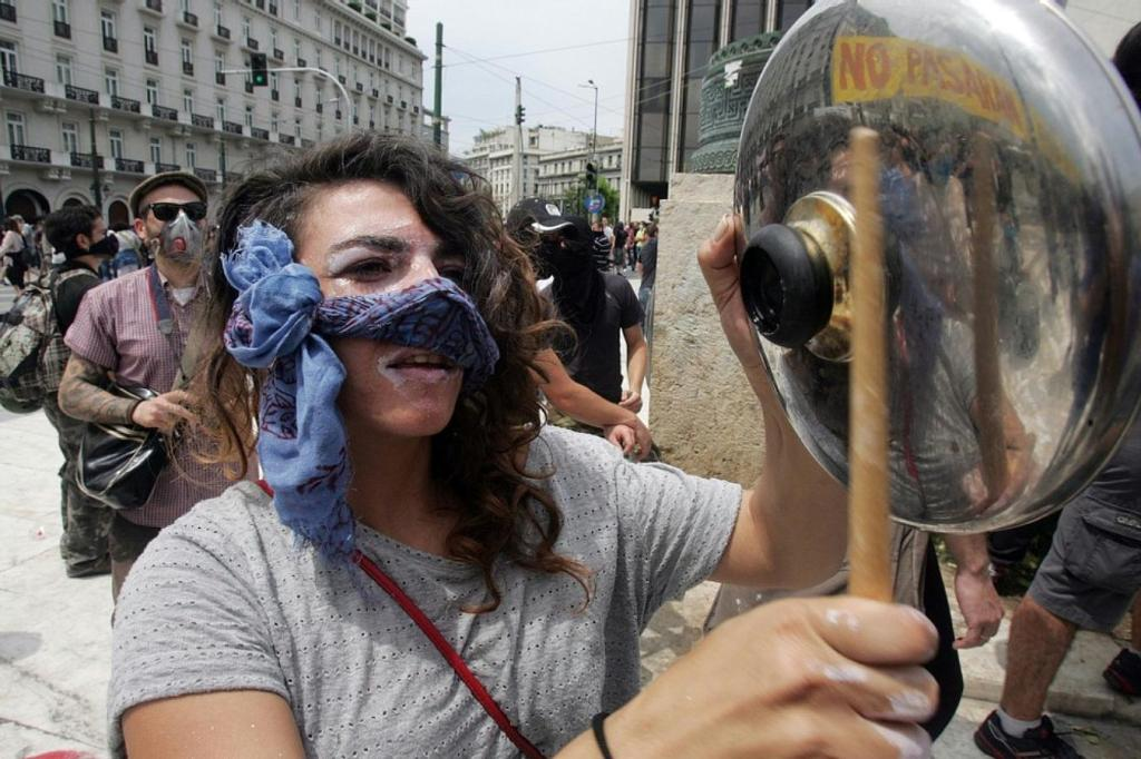 new austerity measures June 15, 2011 in Athens, Greece