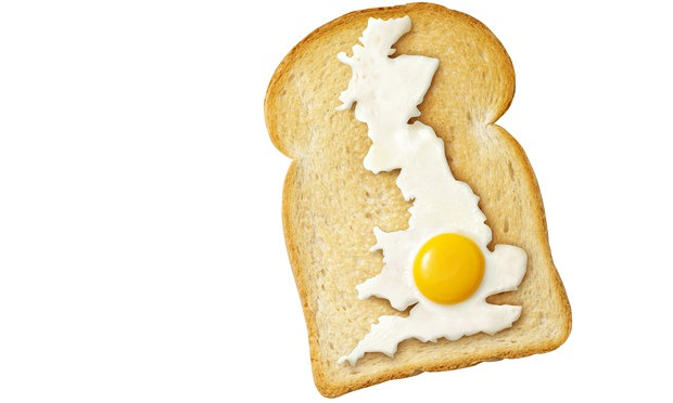 A map of Britain resized by house prices leaves the south-east looking like the yolk of a fried egg,