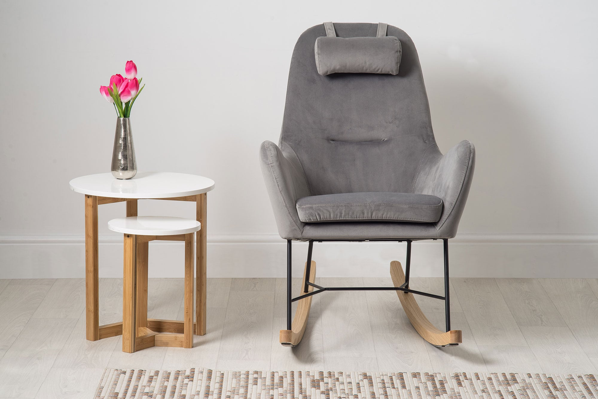 Barton Chair Barton Accent Scandinavian Rocking Chair Bella Casa London