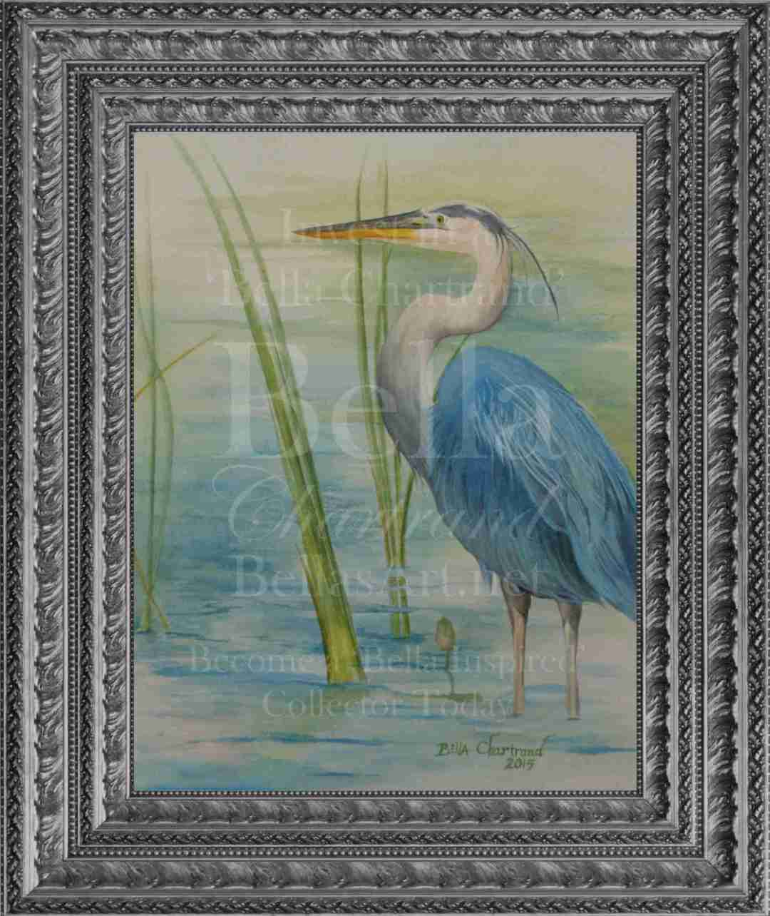 """Bella Blue Heron"""
