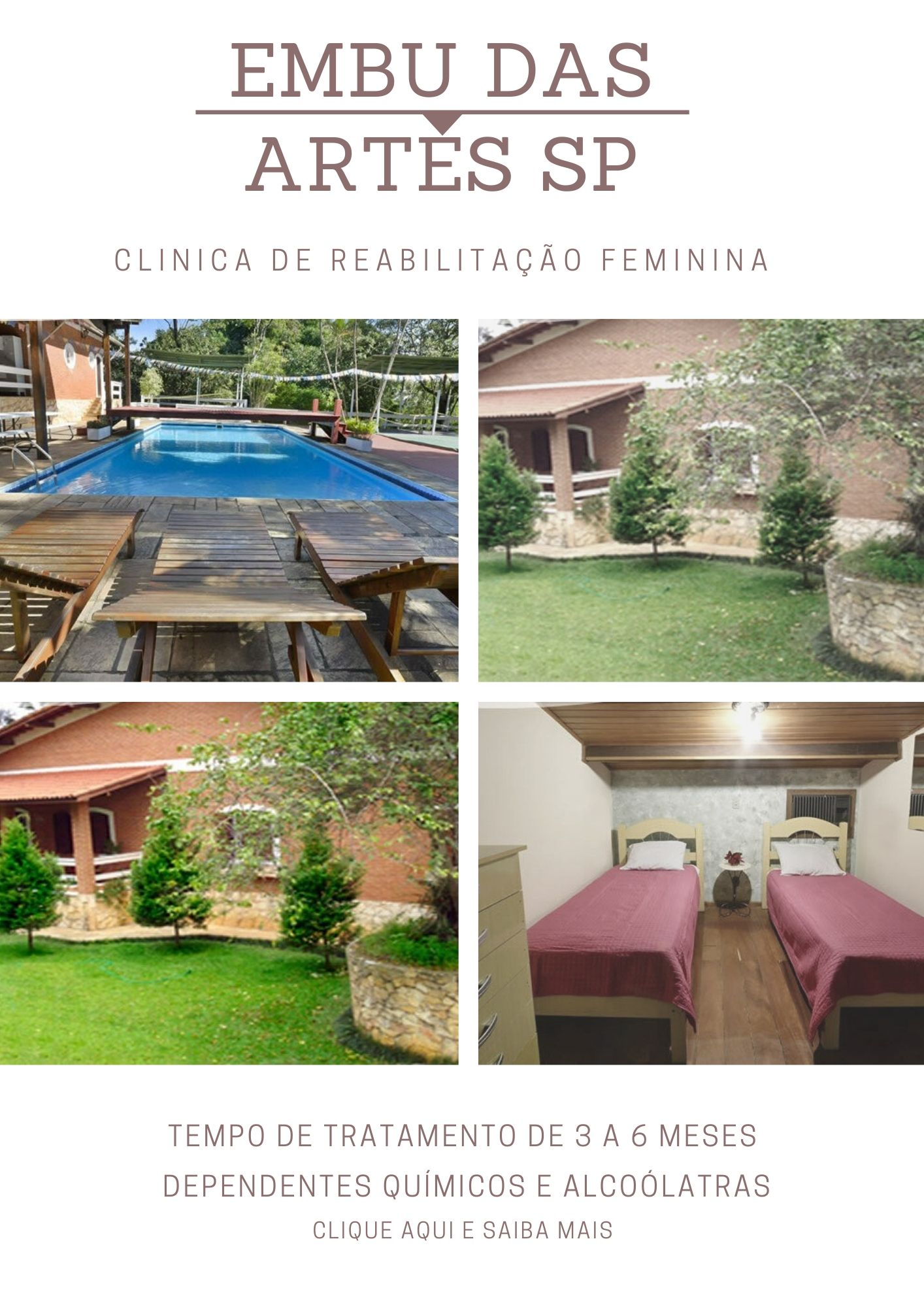 clinica de recuperação de alto padrão em São Paulo
