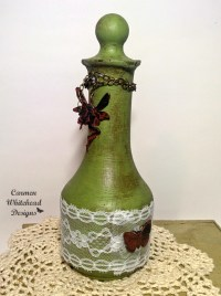 Shabby Chic Altered Bottles - Bella Crafts Publishing