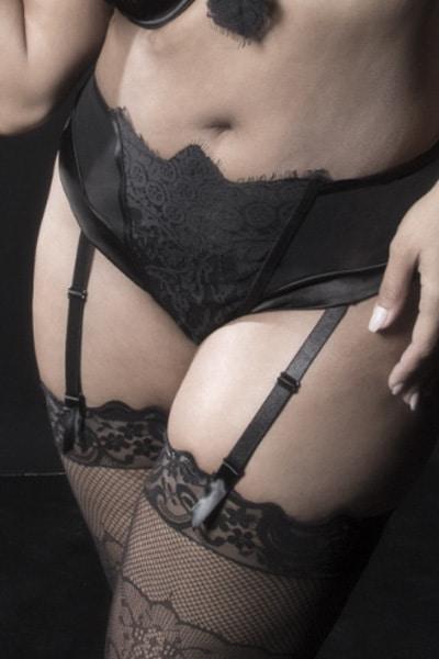 Retro plus size high waist panty - bella curves lingerie