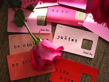 Paint Chip Valentines Things To Make And Do Crafts And