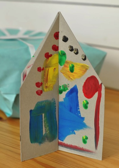 Easy Cardboard House DIY For Kids Things To Make And Do Crafts