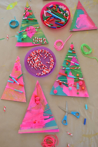 Christmas Tree Assemblage Art Things To Make And Do